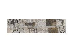 L.PATCHW.CE MIX Listel 7x60 gris WORD UP