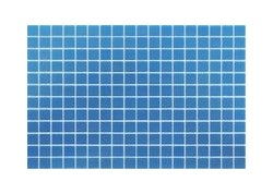 Lisa 25202 Bleu Clair Emaux De Verre Piscine Onix 2,5x2,5