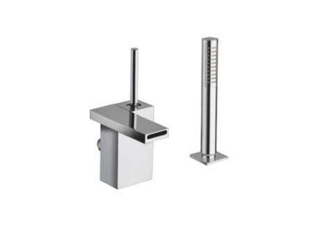 Grifo baño ducha modul sobre garganta 2 agujeros croma Md 12151
