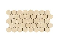 MK.LUXURY A Mosaique 22,5x45 beige amande LUXURY