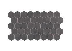 MK.LUXURY DG Mosaique 22,5x45 gris foncé LUXURY