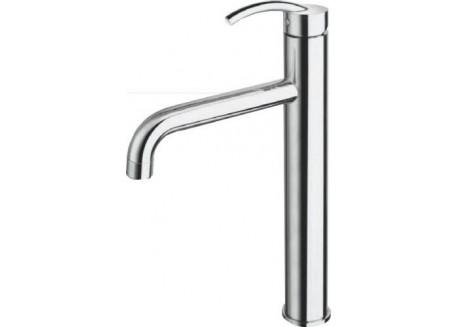 Grifo lavabo tintoretto alto cromo + vaciado up&down tr 55351