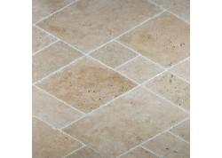 Travertin vieilli multiformat petit opus beige nuancé choix Terrasse Epaisseur 3 cm