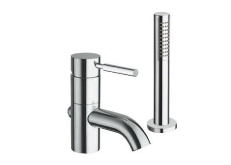 Grifo triverde baño ducha 2 agujeros TV 12151 croma a Ondyna