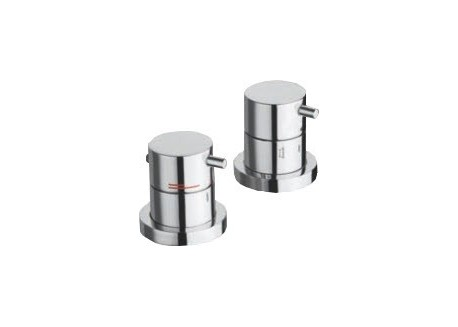 MITIGEUR TRIVERDE BAIN DOUCHE SUR GORGE THERMOSTATIQUE TV 14551 CHROME ONDYNA