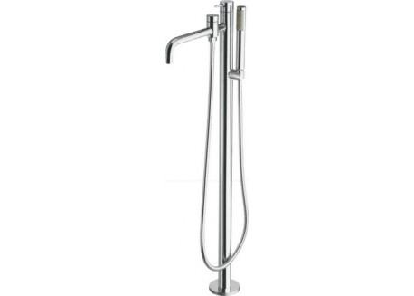 Grifo triverde baño ducha monocolonne sobre pie TV 19051 croma a Ondyna