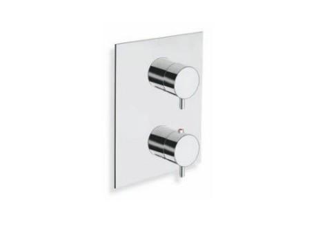 Grifo ducha encajada triverde termostático 2 salidas con mecanismo SV TV 81351