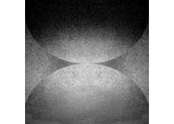 ALPHA NE 60LP Décor sol ou mural 60X60 noir LYRA
