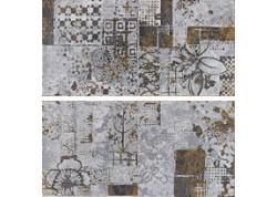 PATCHWORK NEMIX Décor mural 30x60 noir WORD UP
