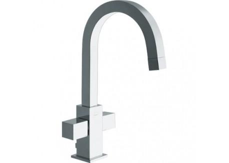 Mezclador lavabo quadri monotrou croma + vaciado cuando 22651