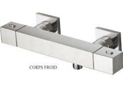 THERMOSTATIQUE DOUCHE QUADRI CORPS FROID CHROME QD 48151