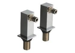 COLONNETTES CARREE POUR PI107/QD100 ENTRAXE BAIGNOIRE 150mm QD 49751