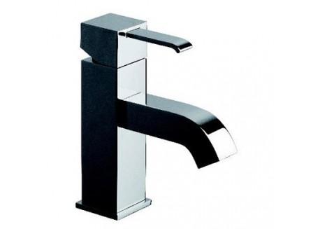 Grifo lavabo quadri amplio cromo con vaciado up&down qm 22351