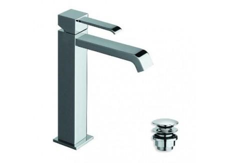 Grifo lavabo quadri mialto cromo con vaciado up&down qm 22751
