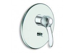 Mitigeur douche museo encastree 2 sorties chrome ar 61951