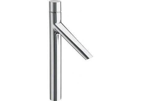 Grifo alto lavabo 450 mm. rubinetto + tapón latón croma Ru 22851