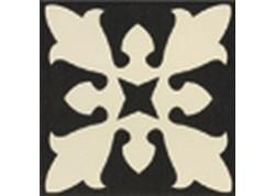 CARRELAGE SOFIA BLACK CENTRO 20X20 MAINZU