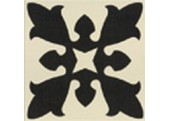 Carrelage imitation carreau ciment Sofia white centro 20x20 - Collection Bulgary - Mainzu