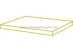 Dalle rectangulaire en pierre reconstituée FONTVIEILLE 49,5 x 39 x 3 ARTEMAT 1568 DL