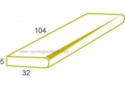 Marche plate monobloc en pierre reconstituée FONTVIEILLE Elément droit 104 x 32 x 5 ARTEMAT 3455 MP