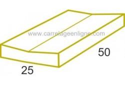 Dalle caniveau en pierre reconstituée FONTVIEILLE Elément droit 50 x 25 non-perforé ARTEMAT 3920 DCP