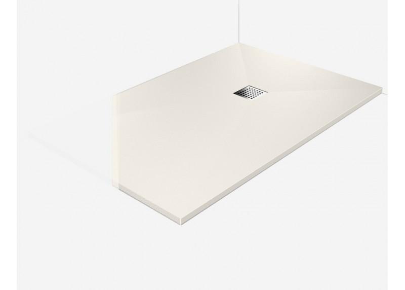 receveur douche l 39 italienne plat bonde perle 100x100 vente en ligne rpb10 100x100 pe w d. Black Bedroom Furniture Sets. Home Design Ideas