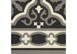 CARRELAGE CENEFA FLORENTINE BLACK 20x20 MAINZU