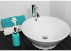 Vasque céramique blanche Ø42,5x18 AMALFI Aqua Plus