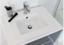 Vasque céramique blanche 40x45x15 KIO Aqua Plus