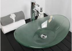 Vasque verre 56x36,5x15 PIROGUE Aqua Plus
