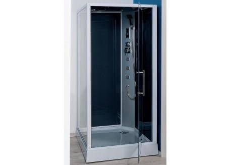Cabine de douche hydromassante carrée 90 cm accès de face NIKY Aqua + - SACHCABNIKY