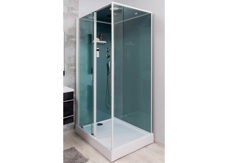 Cabine de douche 90x120 accès de face gauche ADELY Aqua + - SACHCABADELY