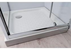 Receveur grès haut 80 X 100 X 9,5 CERA Aqua + - SACHRDDG80X10