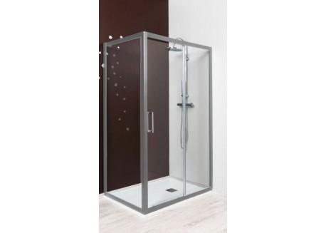 Paroi de douche retour fixe 90 cm NAPA Aqua + - SACHQNAPA90FXCM