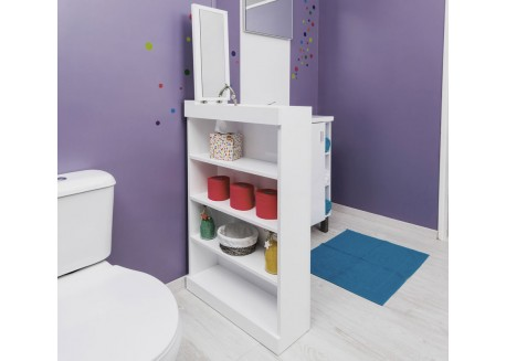Meuble bas à poser pour salle de bain WALI Aqua + - SACHMWALIBLC