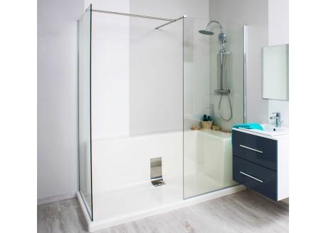 Remplacement de baignoire monobloc Angle gauche CONCEPT-O Monobloc Aqua + - SAFRCONMONANG