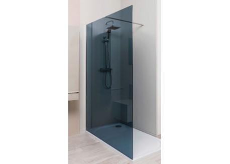 Paroi de douche fumée 140 ITALIENNE Aqua + - SACHQITALPL14F