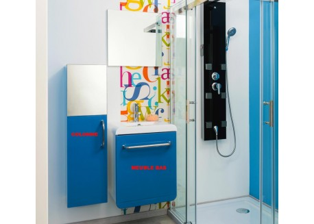 Colonne salle de bain suspendu ELIAD Aqua + - SACHMELIADBLECO