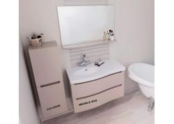 Meuble salle de bain suspendu 90 ITALO Aqua + - SACHMITALO90T