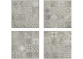 VISION INSERTO MEMORY CENERE 1/2/3/4 60x60 MUSIS
