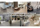 Collection carrelage sol intérieur contemporain et moderne