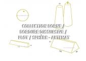 BORNE / BORDURE DISSUASIVE / PLOT / SPHERE - ARTEMAT