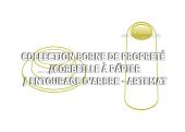 Borne de propreté - Corbeille à papier Artemat