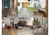 Collection carrelage imitation bois ou parquet