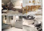 Imso Cargo carrelage imitation bois flotté intérieur