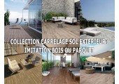 Collection carrelage sol exterieur imitation bois