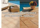 Collection Carrelage Sol Extérieur Aspect Terre Cuite