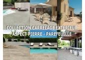 Collection Carrelage Aspect Pierre Extérieur - Parefeuille