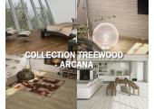 Treewood Arcana carrelage imitation bois parquet intérieur