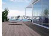 Wood Imola carrelage imitation bois parquet exterieur